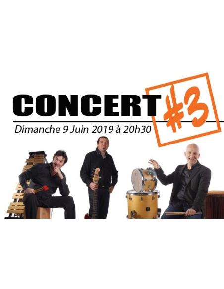 Place Concert / Rencontres - 9 juin 2019 à Verzé - Rencontres Internationales de Percussions