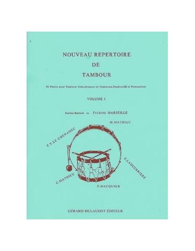 Nouveau Répertoire du Tambour - VOL 1
