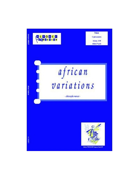 African variations - Christophe MERZET
