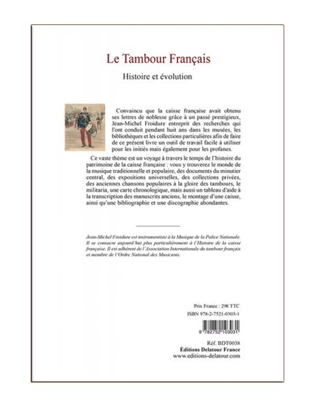 Le tambour français (Livre) - Jean-Michel Froidure