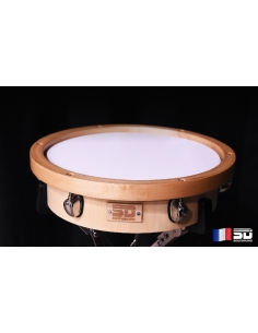 PRACTIM Evolution (Wood hoop) - Soundrums practice pad