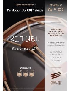RITUEL - Pièce de concert pour ensemble de tambours - Emmanuel JAY