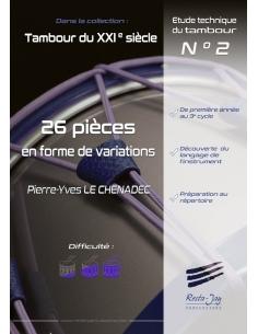 26 pièces en forme de variations - Pierre-Yves LE CHENADEC