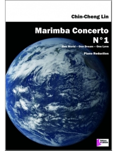 Marimba Concerto N°1. Piano reduction - Chin-Cheng Lin