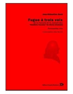 Fugue à trois voix, de la Toccata N° 2 - Jean-Sébastien Bach
