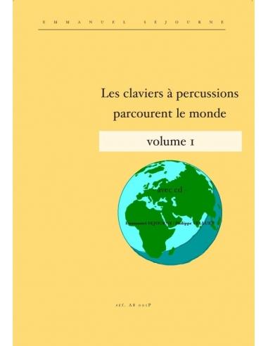 Les claviers parcourent le monde vol. 1 (with CD) - E. Séjourné