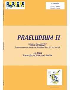 Praeludium II - Jean-Sébastien Bach