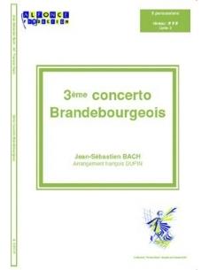 3eme Concerto Brandebourgeois - Jean-Sébastien Bach