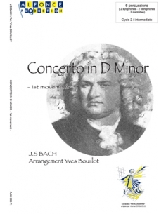 Concerto in D Minor - Jean-Sebastien Bach