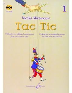 TAC TIC - Volume 1 - Nicolas MARTYNCIOW