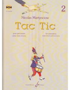 TAC TIC - Volume 2 - Nicolas MARTYNCIOW