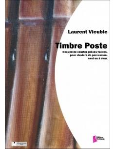 Timbre Poste - Laurent Vieuble