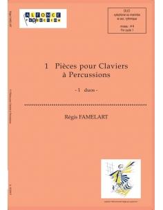 13 Pièces pour Claviers à Percussions - Régis FLAMELART