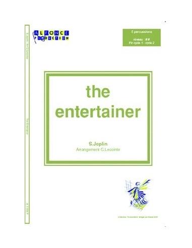 The entertainer - Scott JOPLIN (Arr. Gérard LECOINTE)