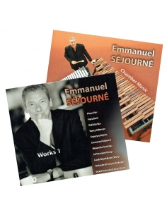 2CDs (Lot) Works 1 + Chamber Music - Emmanuel Séjourné