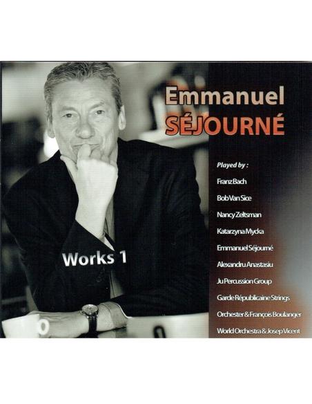 2CDs (Lot) Works 1 + Chamber Music - Emmanuel Séjourné