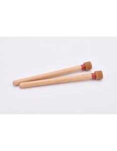 Steel-Drum Double Second/Tenor - Rouge - Médium