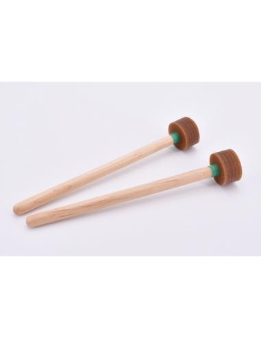 Steel-Drum Guitar / Cello / Four pan - GREEN - Soft