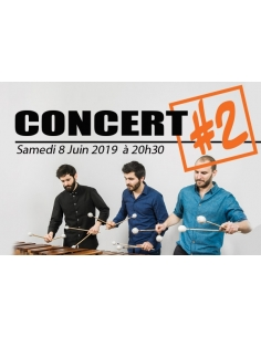 Concert / Meetings ticket - May, 3th 2015 - International Percussions Meeting