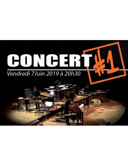 Place Concert - 7 juin 2019 à Verzé - Rencontres Internationales de Percussions