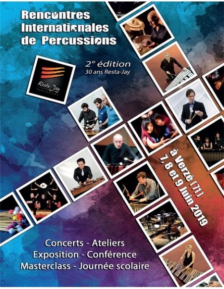 PASS Rencontres - 7, 8 ou 9  juin 2019 à Verzé - Rencontres Internationales de Percussions