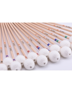 PAIR of Marimba Mallets Jean geoffroy Signature