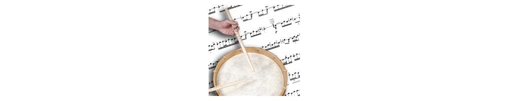 Military drum Scores