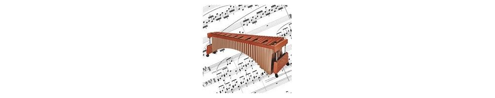 Partitions pour Marimba