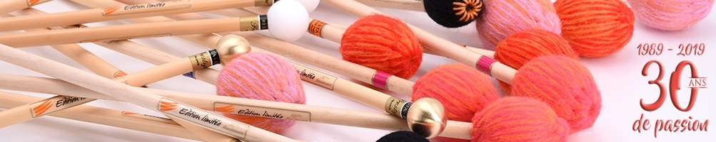 Limited edition mallets - 30th anniversary