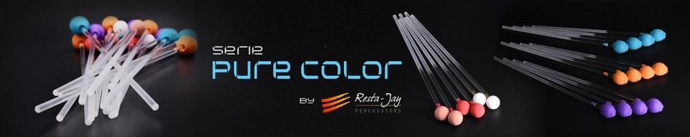 Série Pure Color baguettes vibraphone marimba xylophone RESTA-JAY