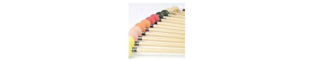 Baguettes de xylophone et baguettes de  Glockenspiel